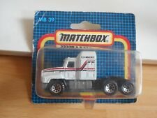 Matchbox Mack CH600 in White on Blister