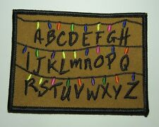 "Stranger Things Tv Series Abc Embroidered 4"" x 3"" Patch Premium Quality"