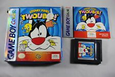 Looney Tunes Twouble (Nintendo Gameboy Color GBC) Complete in Box