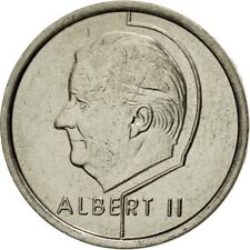 [#542384] Coin, Belgium, Albert II, Franc, 1998, Brussels, AU(55-58), Nickel