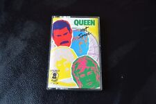 Queen – Hot Space Cassette First – ST 6734 Unofficial Release Singapore