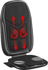 Gideon Shiatsu Back  Massage Seat Cushion with Heat Deep Kneading for Car, Home