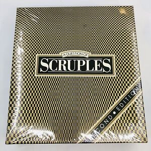 A Question Of Scruples 2nd Edition Milton Bradley Board Game 1987 New Sealed Vtg