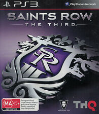 Saints Row: The Third (Sony PlayStation 3, 2011) Used