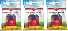 (6 Pack) Crittertrail Fun-Nels Bubble Plugs, Assorted Colors (3 Packages Contain