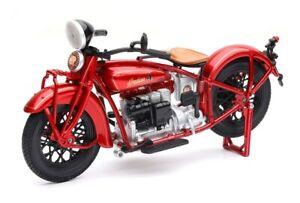 New Ray 1/12 1930 Indian Four (Burgendy) Diecast Bike
