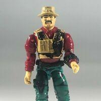 """GI Joe Action Figure 1992 Bazooka Missile Specialist 3.75"""" Vintage Hasbro"""