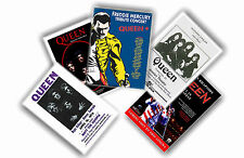 QUEEN - SET OF 5 A4 POSTERS # 1
