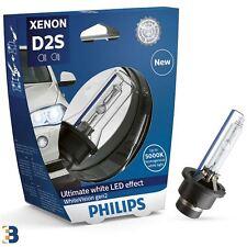 D2S Philips White Vision Gen2 85V 35W Xenon headlight bulb 85122whv2s1 5000K x1