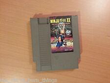 Ninja Gaiden 2 Ii Nintendo Nes Ntsc Buen Estado