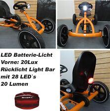 LED - Lichtset - Kurvenlicht  1xVorne 1xRücklicht  für Berg Gokart Buddy - NEU -