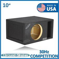 "30Hz 10"" Reinforced Competition Ported Sub Box Single 10"" subwoofer Enclosure"