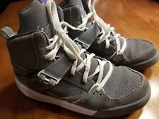 NIKE AIR JORDAN FLIGHT 45 HIGH COOL GREY & WHITE SIZE 7Y 7 524865-014