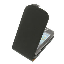 Case for Samsung Galaxy Xcover 2 S7710 Flip Style Cell Phone Protection Black