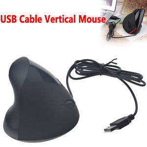 5 Buttons Vertical Optical Mouse Ergonomic wired Gaming Mice