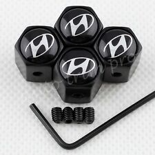 Antitheft Accessories Wheel Tyre Tire Valve Caps Air Dust Stem For Hyundai Style