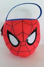 Marvel Ultimate Spider-Man Large Padded Fabric Easter or Halloween Basket NWT