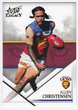 2018 AFL Select Legacy Common Card - Brisbane - Allen Christensen