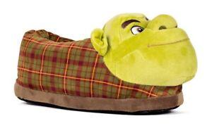 Shrek Realistic Looking Happy Feet Slippers Dreamworks