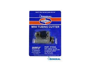 Uniweld 70000  Mini Tubing Cutter Cuts 1/8 Inch to 7/8 O.D. Copper, Brass,