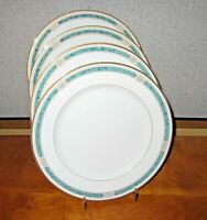 Gorham Regalia Court Teal Dinner Plates Lot of 4 Excellent! More Available!!