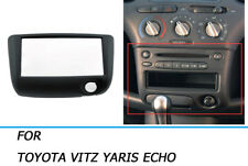 Car Stereo Radio Fascia Panel Kit Frame For Toyota Yaris Echo Vitz Platz 99-05