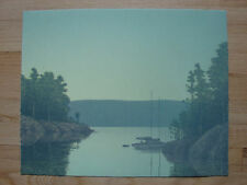 Original signed Russell Chatham lithographic print Evening at Rock Island