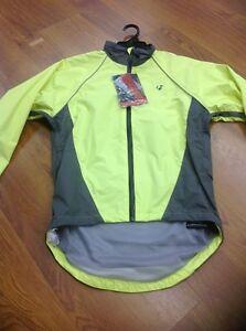 Cycling Jacket Waterproof Size Small Yellow