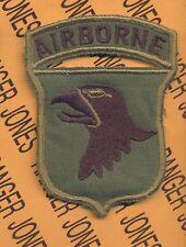 101st Airborne Div. ABN AASLT Airmobile Vietnam patch