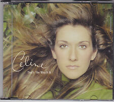 CELINE DION - that's the way it is CD single