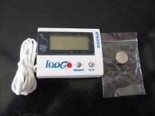 Digital thermometer indoor outdoor freezer refrigirator aquarium with cable New