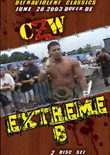 CZW Wrestling: Extreme 8, Double DVD, Zandig Nick Mondo