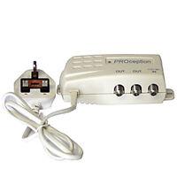 Proception proPSU12F 2 way Masthead Power Supply PSU 12V DC F TYPE 100mA