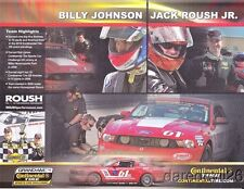 2011 Roush Performance #61 Ford Mustang GS Continental Tire postcard