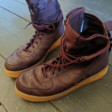 Nike SF Airforce 1 High Men's Basketball Shoe Burgendy US11.5