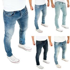 WOTEGA Herren Jeans Hose Slim Fit Jeanshose Denim Stretch Jeans Alistar