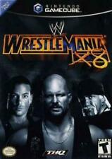 2 Nintendo GameCube Games: WWE Wrestlemania X8 & Madagascar