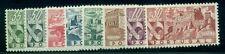 Portugal #662-9 Complete set, Castles, og, Lh, Vf, Scott $118.80