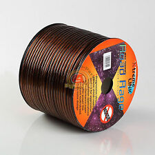 Road Rage 8 Gauge 250 FT Xtreme Hight Performance Wire Cables Black 250' 8 AWG