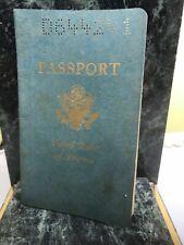 VTG OBSOLETE U.S. PASSPORT ISSUED 1963 (b5)