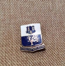 WWII Connecticut State Guard DI Unit Crest Pin