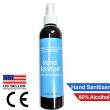Hand Sanitizer Spray | 80% Alcohol MADE IN USA | 8oz AUTHORIZED SELLER