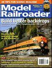 Model Railroader Magazine June 2018 Build better backdrops