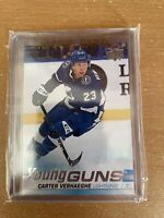 19/20 CARTER VERHAEGHE YOUNG GUNS RC SP ROOKIE #224 Hot star Florida panthers