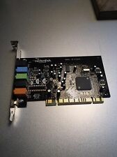 Rocketfish Gaming 5.1 PCI Sound Card High-Quality 3D Surround Sound