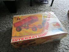 JI Case IH International Farmall Farm Toy Plastic Model Kit Barge Wagon Sealed