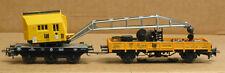 Brawa 54990 HO Crane with idler car