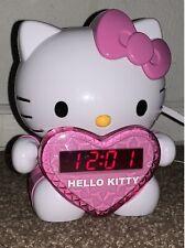 Hello Kitty Projector Radio/Alarm Clock W/ Extending Light Projection Arm.