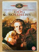 Dog Soldiers DVD 1978 Robert Piedra Veterano Vietnam Crimen Suspense Clásico