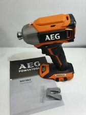 NEW! AEG 18v Brushless Impact Driver - 2020 Model BSS18BLC